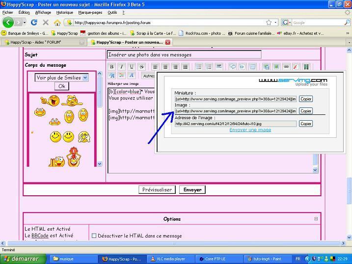 Tuto: Insérer une image dans vos messages Tuto-img5